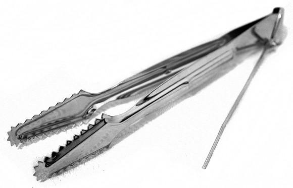 Metal Hookah Tongs