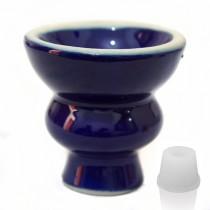 Blue hookah bowl