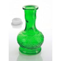 Green Tropic Hookah vase
